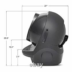 3 Connect Automatic, Self-Cleaning Litter Box for Cats, Designed and Assembled