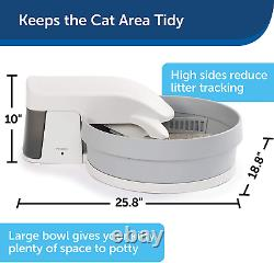 Automatic Self Cleaning Cat Litter Box Clumping Cleaning Simply Clean New Model