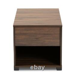 Cat Litter Box Cover / Cat House End Side Table Furniture Brown Rectangular