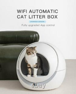 NEW PETREE Automatic WIFI-Enabled Self-cleaning Cat Litter Box AU STOCK