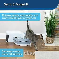 PetSafe PAL00-16741 Simply Clean Automatic & Self Cleaning Litter Box Max 15lbs