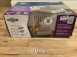 PetSafe ScoopFree Corded Electric Automatic Self Cleaning Cat Litter Box Grey