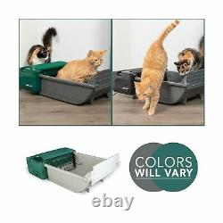 Pet Smart Scoop Automatic Cat Litter Box Rugged Reliable Quiet 1550012757 New