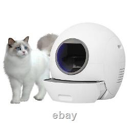 Smart IR Induction System Automatic Cat Litter Box Toilet Potty Self-Cleaning