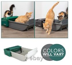 Smart Scoop Automatic Litter Box (Self Cleaning Litter Box /Litter Box for Cats)